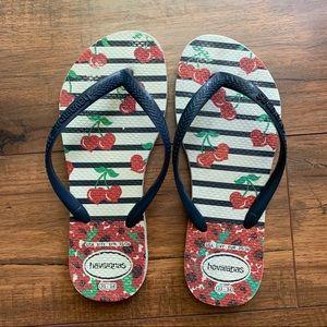 Kids Slim Havaianas Flip Flops